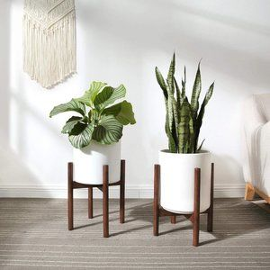 New Mid-Century Modern Plant Stand